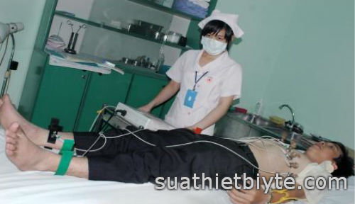 Sửa chữa máy điện tim