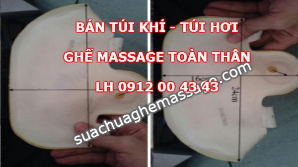 Bán túi khi ghế massage