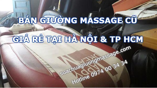 Bán giường massage cũ Hàn Quốc tại Hà Nội và TP HCM